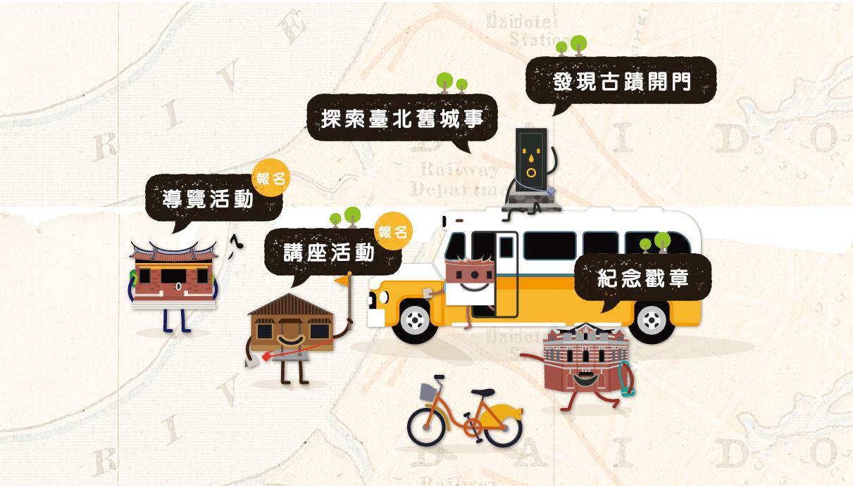 藝文訊-台北舊城事