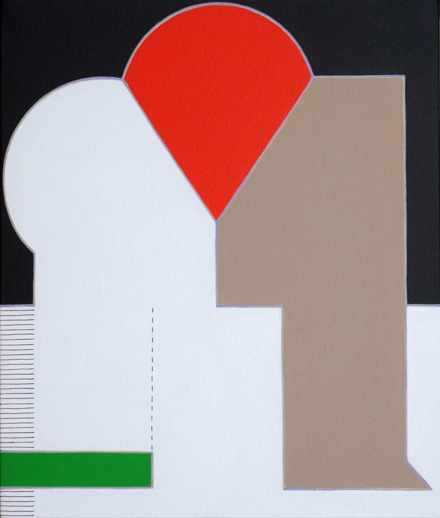 日本大阪的Yoshiaki Inoue Gallery帶來具體派藝術家Etsuko Nakatsuji中辻悦子的【Human Figure】