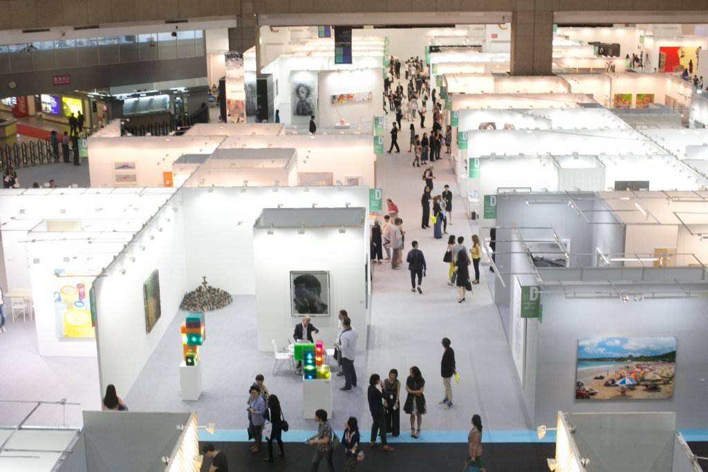 2015台北藝博展區空間設計搭配燈光呈現視覺無邊際感