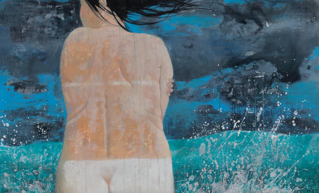 卓利多.得爾志也夫- 暴風警報 -壓克力畫布│90x150 ,2015 (比劃比畫)%2F ZORIKTO DORZHIEV - Storm Warning -acrylic on canvas - 90x150 , 2015( Be Fine Art Gallery)